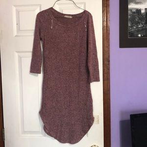 Quarter sleeve dress